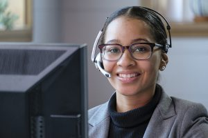 E-commerce customer service: customer service agents solve problems self-service can't