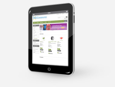 Mobile-enabled sales portal