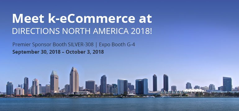 Directions North America 2018 | September 30, 2018 - October 3, 2018 | Booth Premier Sponsor SILVER-308 | Expo Booth – G4