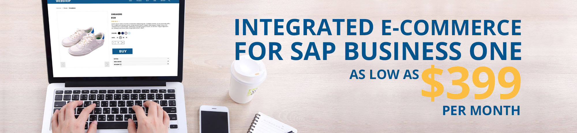 Integrated e-commerce for SAP Business One