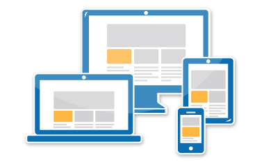 Natively responsive web design / touchscreen optimization