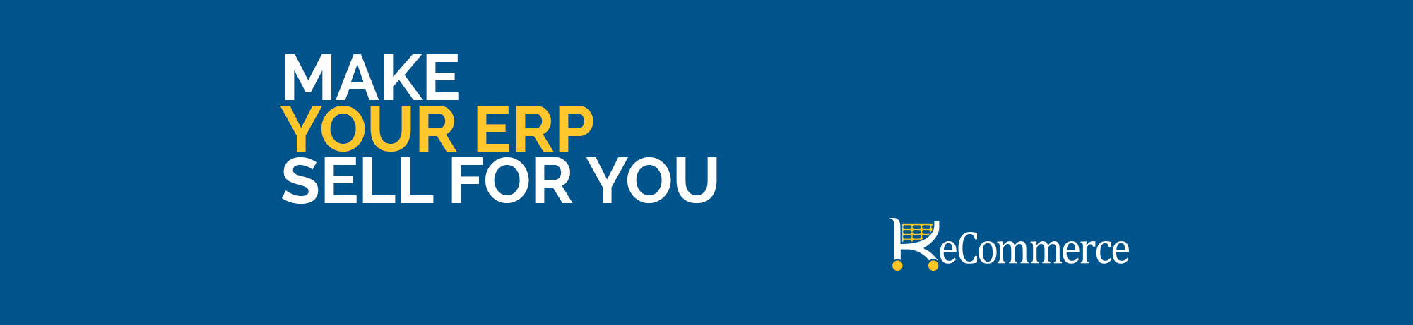 Make Your ERP Sell For You