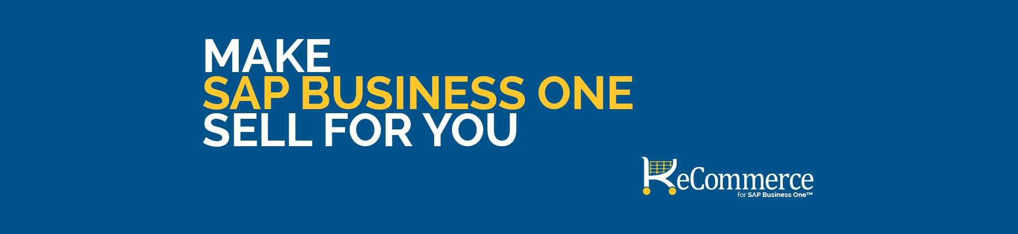 Make SAP Business One Sell For You
